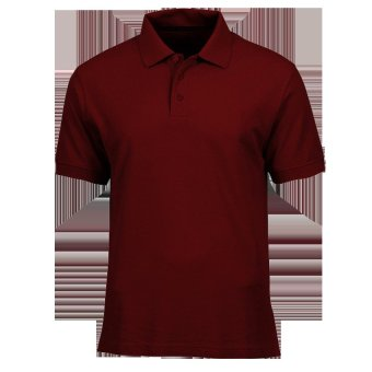 Lifeline Polo Shirt (Berry Red)