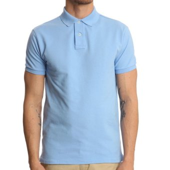 Lifeline Polo Shirt (Blue Ice)