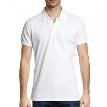 Lifeline Polo Shirt (White)