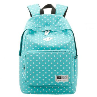 Lightweight Casual Backpack for Women Girls College Book bag School Bags (Blue)