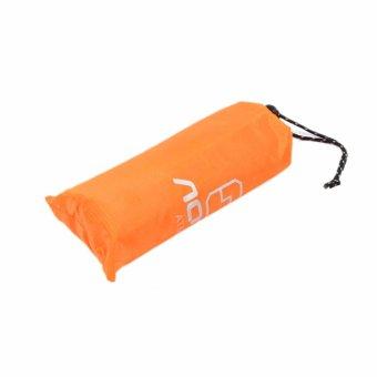 Lightweight Raincoat Rain Cape Poncho Backpack Position-Orange -intl - 3