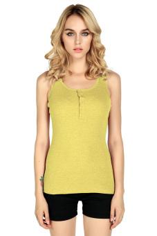 Linemart Sleeveless Tops (Yellow)