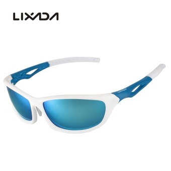 Lixada Polarized 100% UV Protection Glare Eliminating Sports Sunglasses Sun Glasses for Cycling Riding Camping Hiking Running Golf - intl