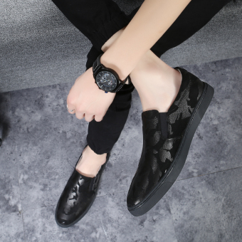 Loafers Korean-style a pedal men shoes trendy shoes
