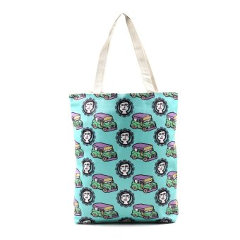 London Fashion Jeepney at Binibini Tote Bag (White) Price Philippines