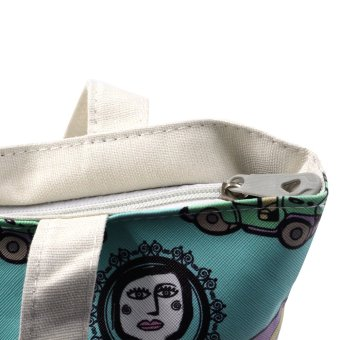 London Fashion Jeepney at Binibini Tote Bag (White) - picture 3