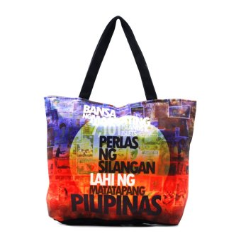 London Fashion Perlas ng Silangan Tote Bag (Black) Price Philippines