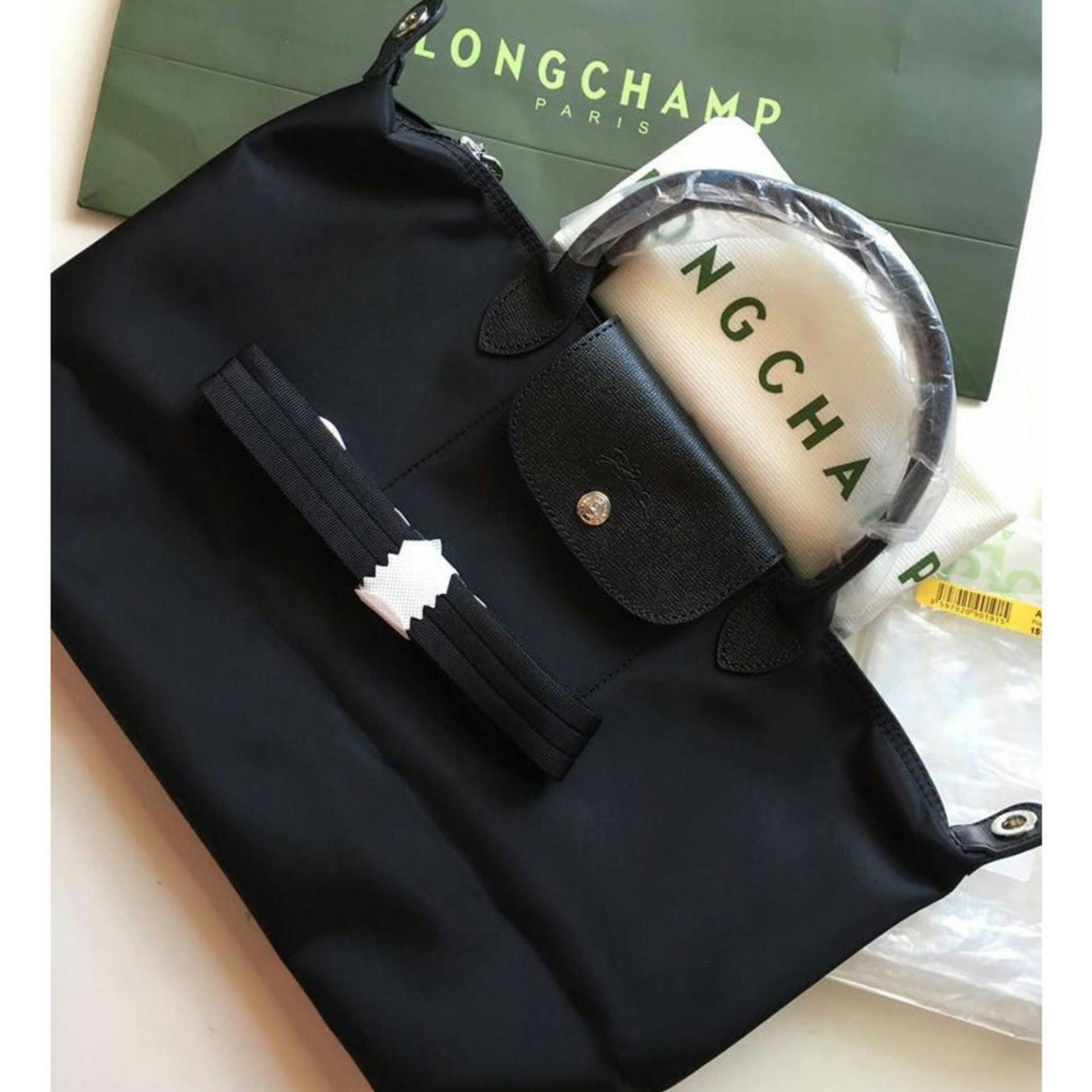 Philippines Long Champ Neo Pliage Medium Short Handle Free Twilly Longchamp Small Black Authentic Rodeocharm