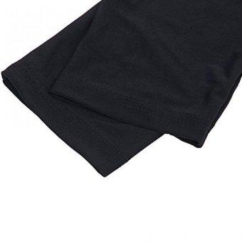 Long Sleeve Stretch Leg Warmer Sports Knee Guard Windproof Covers L - 4