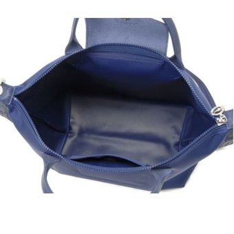 Longchamp Le Pliage Neo Medium Nylon Tote Bag (Navy Blue)