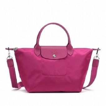 Longchamp Le Pliage Neo Medium Nylon Tote Bag (Pink)