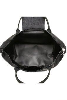 ... Longchamp Le Pliage Neo Medium Short Handle (Noir) - 3 ...