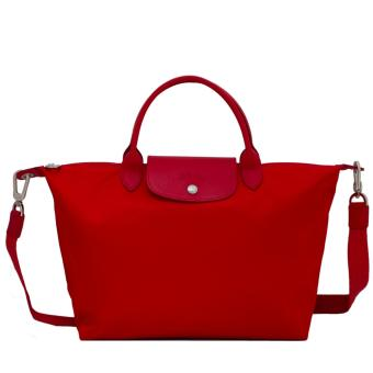 Longchamp Neo Le Pliage Meduim Tote Bag (Poppy Red)