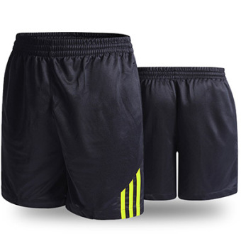 LOOESN casual New style for men and women breathable black I shorts (Green)