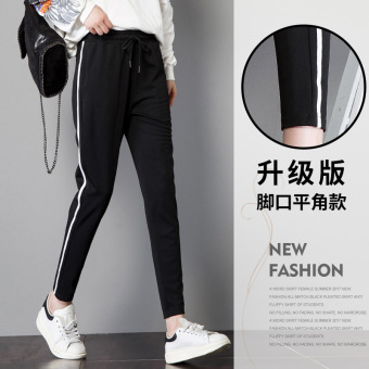 LOOESN Korean-style HarLan female New style feet pants casual sports pants (An upgraded