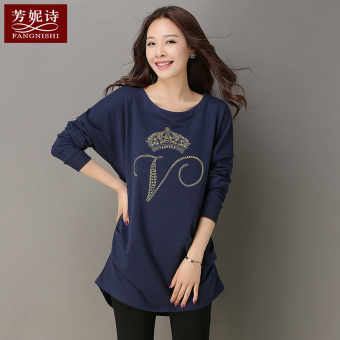 LOOESN Korean-style New style mid-length Top T-shirt