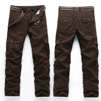 LOOESN outdoor tube wear and more with pockets pants tooling pants (Eight with pockets PARK'S)