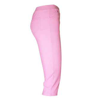 Lookssy Unisex Style Plain Type Jeggings Pedal (baby pink) - 2