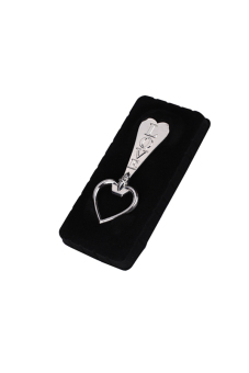 Love Heart Shaped Bottle Opener Silver