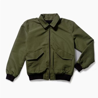 LOYAL Olive Aviator Jacket - 4
