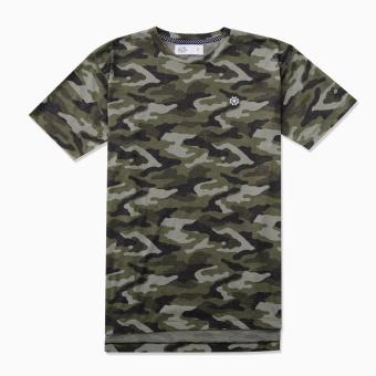 LOYAL Tee in Camo Pattern