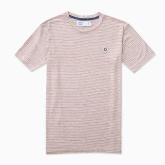 LOYAL Tee in Pink Stripes