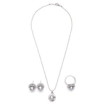 Lucky Yeng July 184 Jewelry Set (White)