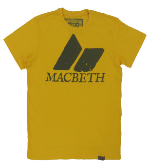 Macbeth Roundneck Tee Slim Fit 2121EF188 (Yellow Gold) Price Philippines