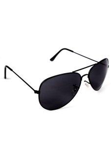 Maldives Unisex Harper Sunglasses (Black) - picture 2