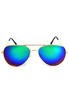 Maldives Unisex Harper Sunglasses (Multicolor/Blue)