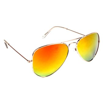 Maldives Unisex Harper Sunglasses (Orange)