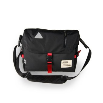 Man Fashion Crossbody Bag Casual Messenger Bags (Black) - intl