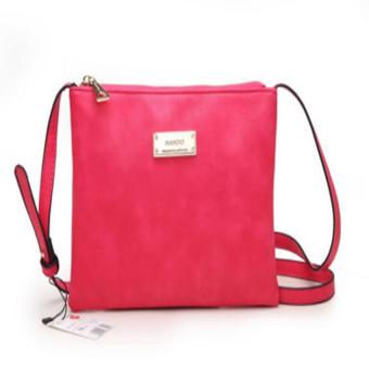 Mango Crossbody Bag (Hot pink) - intl Price Philippines