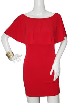 Marian Bodycon Dress (Red)