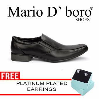 Mario D' boro Heins Formal Shoes (Black) Price Philippines