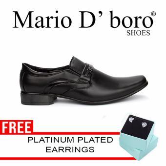 Mario D' boro Holmes Formal Shoes (Black)