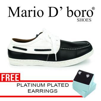 Mario D' boro Runways Isidro Loafers (Black)