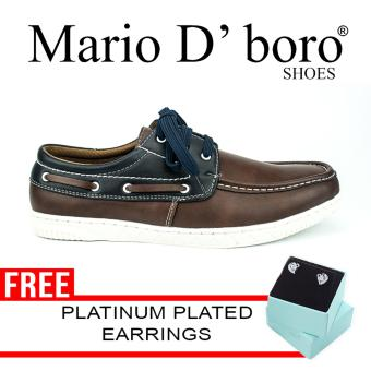 Mario D' boro Runways Isidro Loafers (Brown)