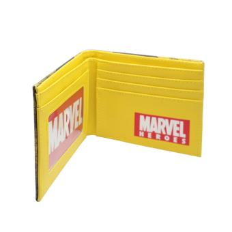 Marvel/DC Wallet (Wolverine Leather) - 3