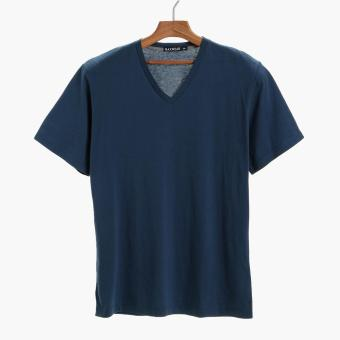 Maxwear Mens Basic Tee (Deep Blue) Price Philippines