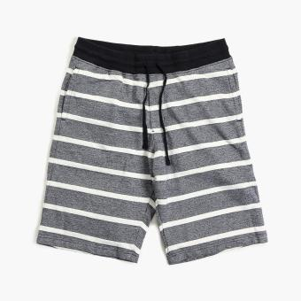 Maxwear Mens Striped Easy Shorts (Navy Blue) Price Philippines