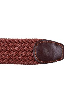 McJIM 42-316 Braided Belt (Brown) - picture 2