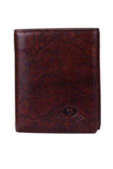 McJIM W-28-2048CH Tri-fold Wallet (Brown)