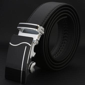 Men Belt Business 2017 Luxury New Designer Automatic Buckle Leather