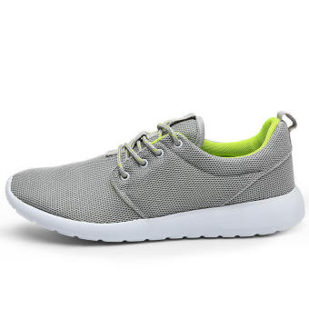 Men Casual Fashion Skater Shoes - Grey - picture 2