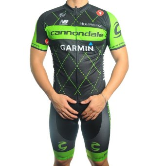 Men Cycling Jersey and Non Bib Shorts Set Quick Dry Gel Padded Clothing-FNM (CN2) - 2
