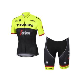 Men Cycling Jersey and Non Bib Shorts Set Quick Dry Gel Padded Clothing-FNM( TRKGREEN )