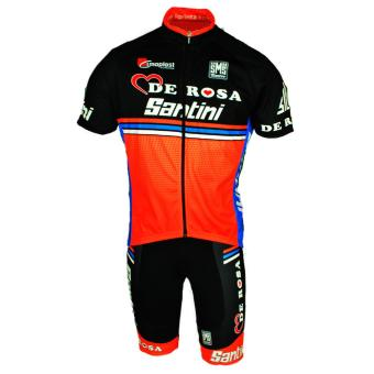 Men Cycling Jersey and Non Bib Shorts Set Quick Dry Gel PaddedClothing-FNM (DRSNTN)