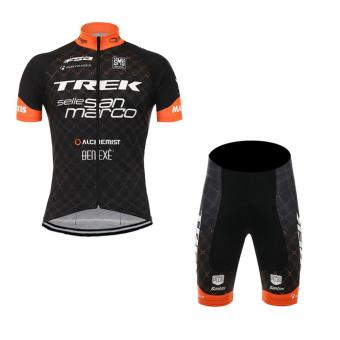 Men Cycling Jersey and Non Bib Shorts Set Quick Dry Gel PaddedClothing-FNM (SNTNTRK4)