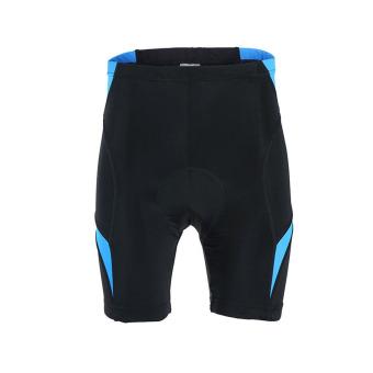 Men Cycling Jersey Set Short Sleeve Suit Bike Bicycle T ShirtsShorts Gel Padded Summer - Blue - 4
